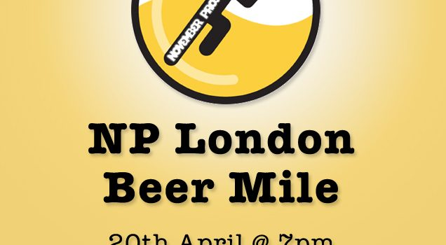 NP London Beer Mile…let's do this!