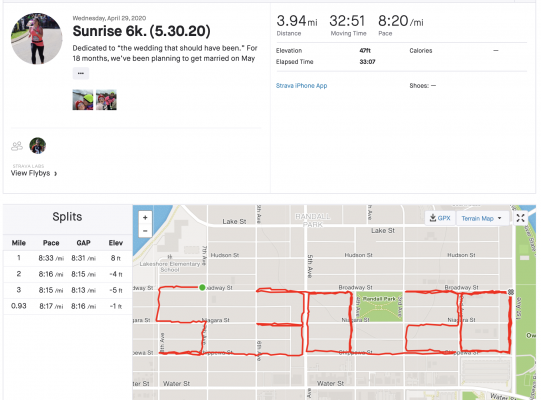 Strava Profile for Emily Wermund