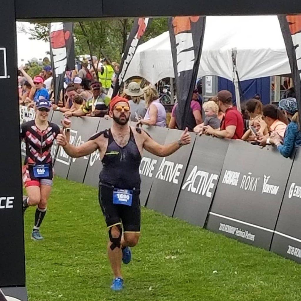 Moris finishes Ironman 70.3 Boulder